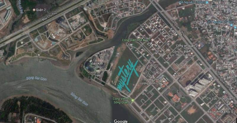 Vị trí dự án Saigon Mystery Villas Hưng Thịnh