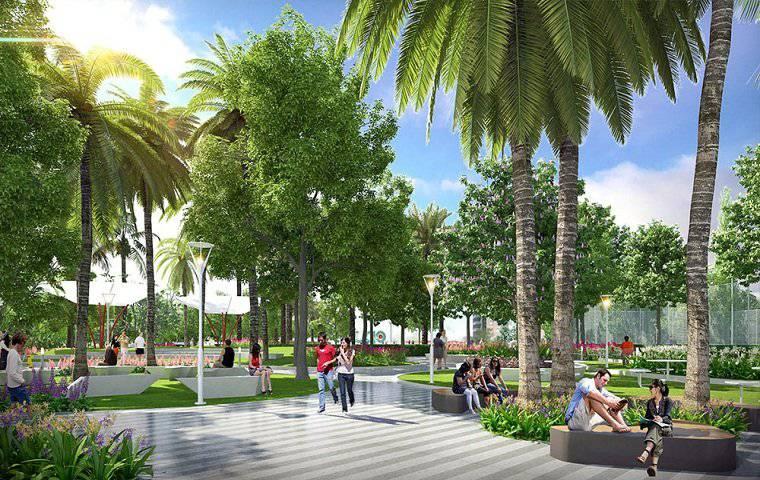Tiện ích công viên xanh