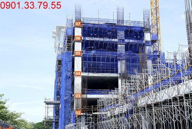 Thi công cốt thép sàn tầng 7 - block Southern Sai gon Mia