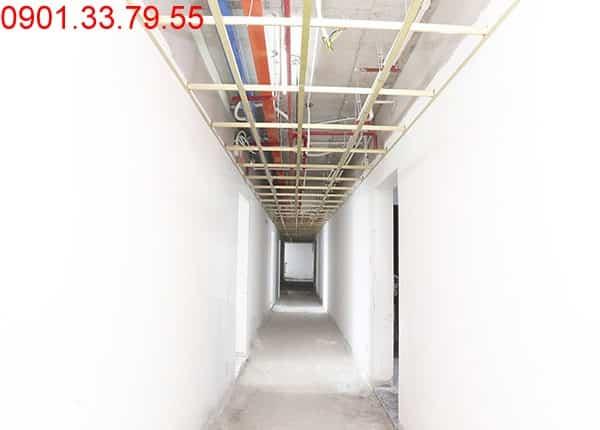 Thi công hệ thống M&E và khung xương trần thạch cao hành lang Block A, B, C, D dự án chung cư Florita quận 7