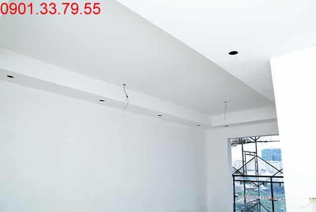 Tiếp tục bả mastic tường trong căn hộ từ tầng 4 đến tầng 14 - Block A, B, C, D dự án căn hộ Florita