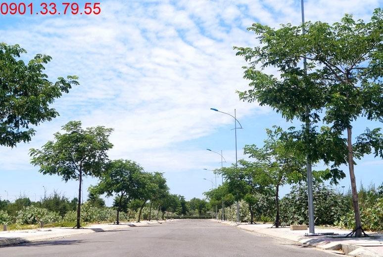 Hình ảnh thi công Đường N2 - khu D16 dự án Golden Bay