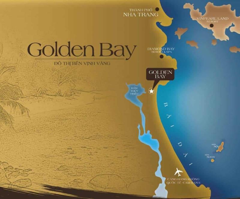 Vị trí vàng của khu đô thị Golden Bay City tại bắc bán đảo Cam Ranh