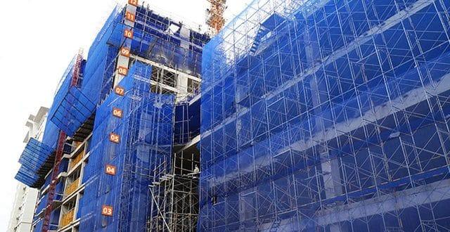 Thi công cốp pha sàn tầng 12 - block Southern dự án Saigon Mai