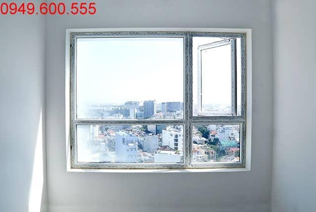 Lắp đặt cửa sổ tầng 16 block A, B; tầng 10 đến tầng 13 block C, D căn hộ Sky Center Phổ Quang