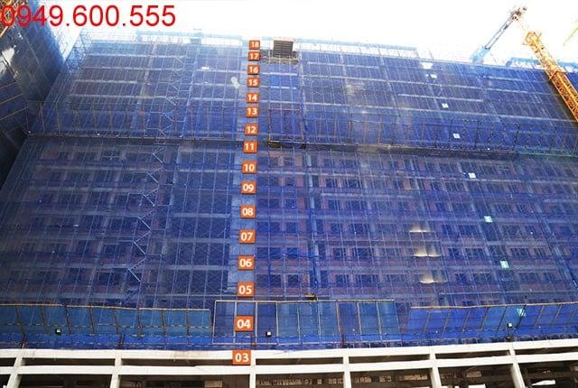 Hình ảnh tổng quan Block B dự án 9 view Apartment