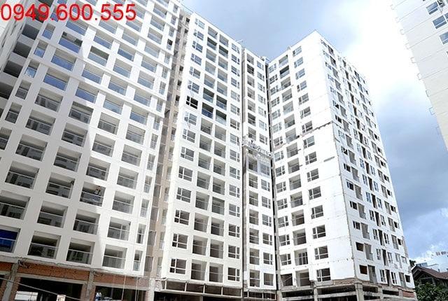 Tổng thể block B chung cư Sky Center