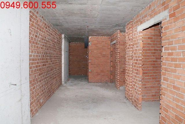 Xây tường bao căn hộ tầng 21 block A Lavita Garden Hưng Thịnh