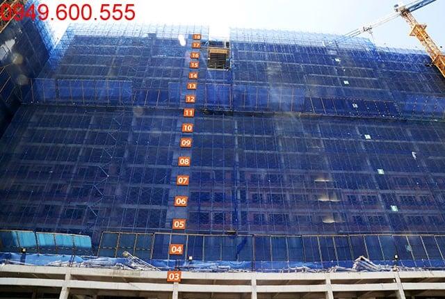 Hình ảnh tổng quan Block B chung cư 9 View Apartment