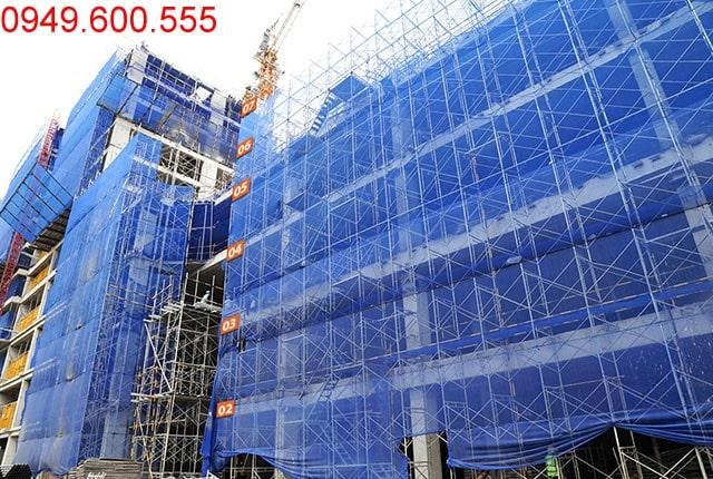 Thi công cốp pha sàn tầng 7 - block Central Saigon Mia Trung Sơn