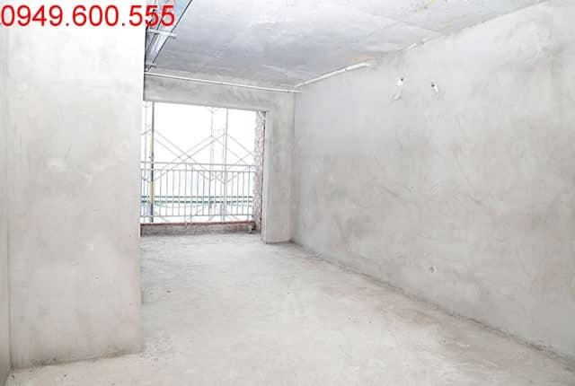 Thi công tường bao căn hộ sàn tầng 12 block A, B Moonlight Park View Bình Tân