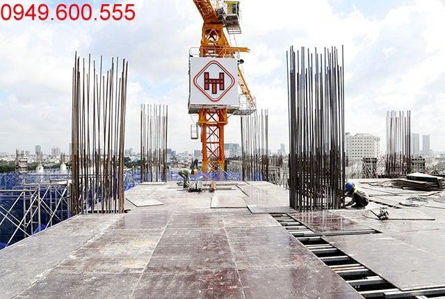 Thi công cốp pha sàn tầng 7 - block Central Sài Gòn Mia Hưng Thịnh