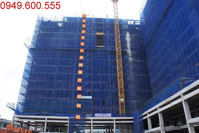 Hình ảnh tổng quan Block C chung cư 9 View quận 9
