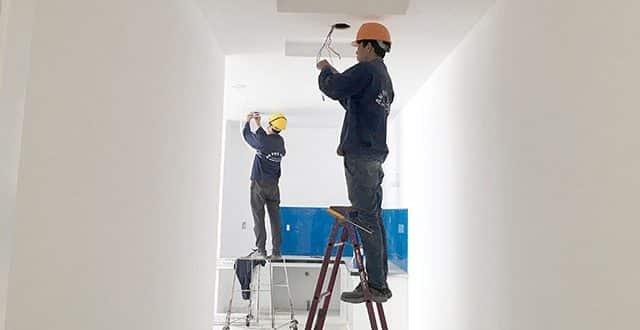 Công tác hoàn thiện hệ thống M&E căn hộ block A và block B chung cư Vũng Tàu Melody Hưng Thịnh