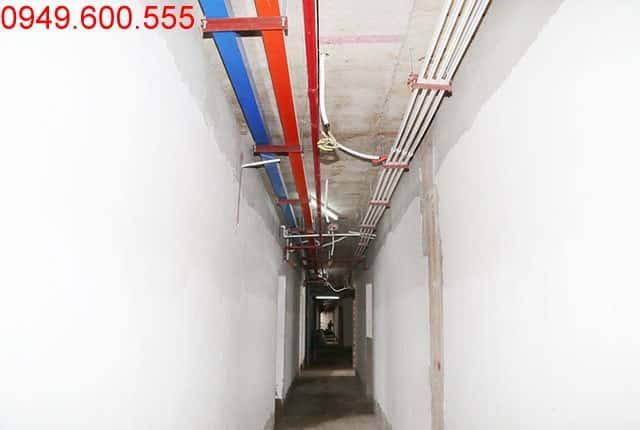 Lắp đặt hệ thống M&E từ tầng 4 đến tầng 18 Block A, B, C, D chung cư Florita