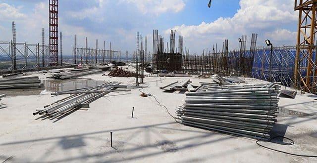 Hoàn thành đổ bê tông sàn tầng 18 Block C dự án 9 View