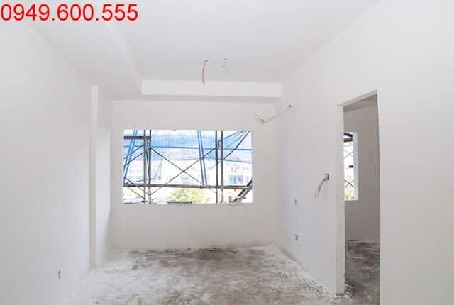 Bã sơn tường bao căn hộ tầng 3 Block A, B, C 9 view Apartment Hưng Thịnh