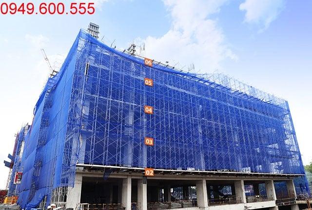Hoàn thành đổ bê tông sàn tầng 6 - block Northern dự án Saigon Mia Hưng Thịnh