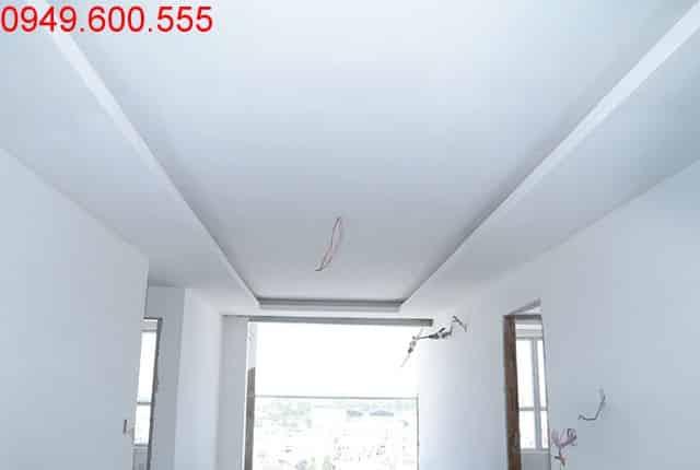Đóng trần thạch cao tầng 16 block A, B; tầng 10 đến tầng 13 block C, D dự án Sky Center Phổ Quang