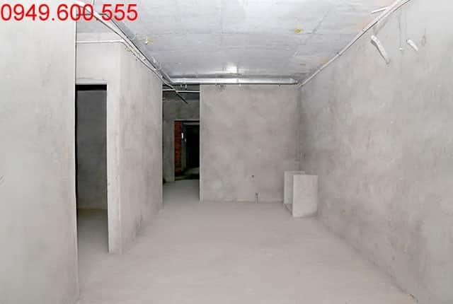 Thi công tường bao căn hộ sàn tầng 12 block C chung cư Moonlight Park View Bình Tân