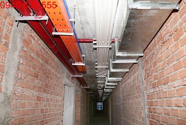 Thi công hệ thống M&E tầng 15 block A và tầng 16 block B dự án Lavita Garden Hưng Thịnh