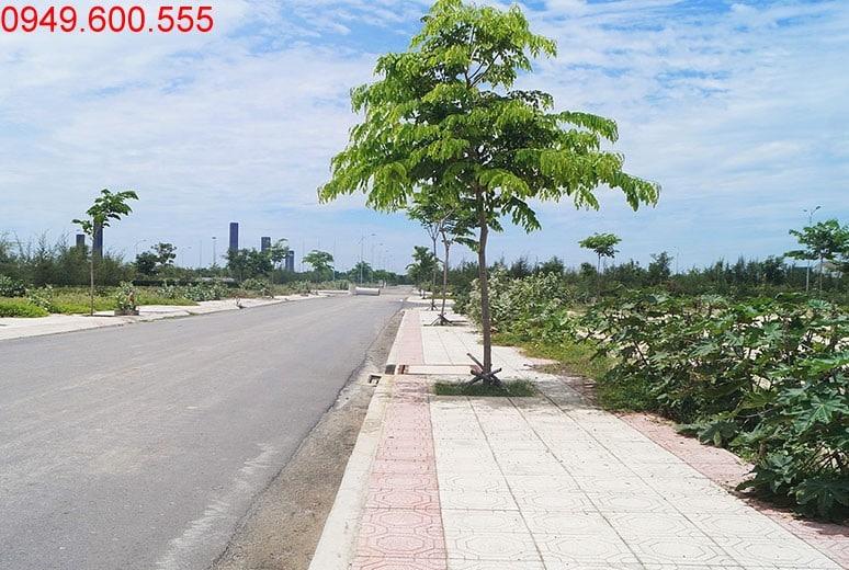 Đường N7 - khu D17 dự án đất nền Golden Bay Cam Ranh