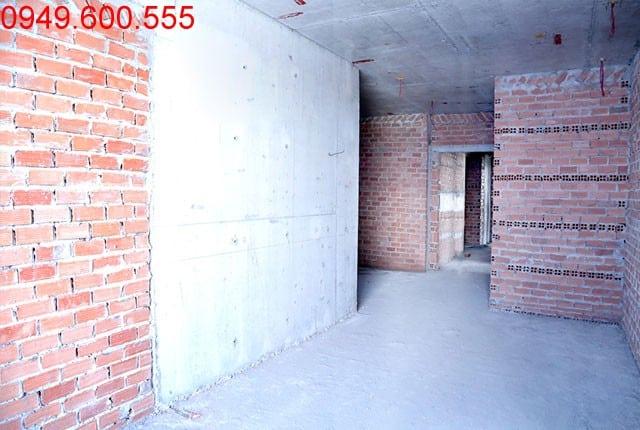 Thi công tường bao căn hộ sàn tầng 4 - 8 block C dự án chung cư Moonlight Park View