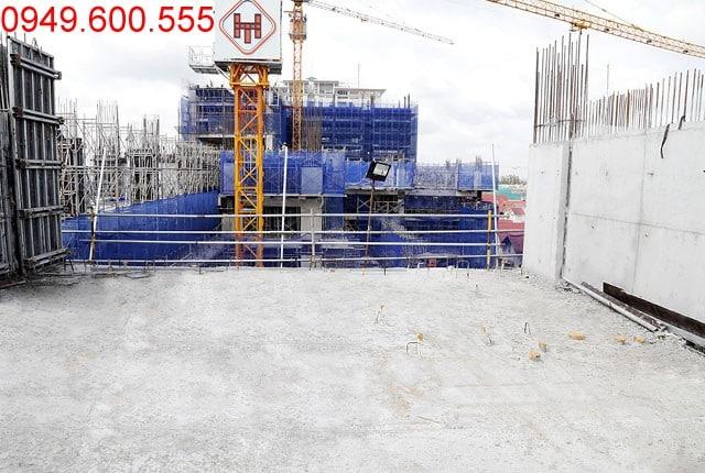 Hoàn thành đổ bê tông sàn tầng 6 - block Northern chung cư Saigon Mia