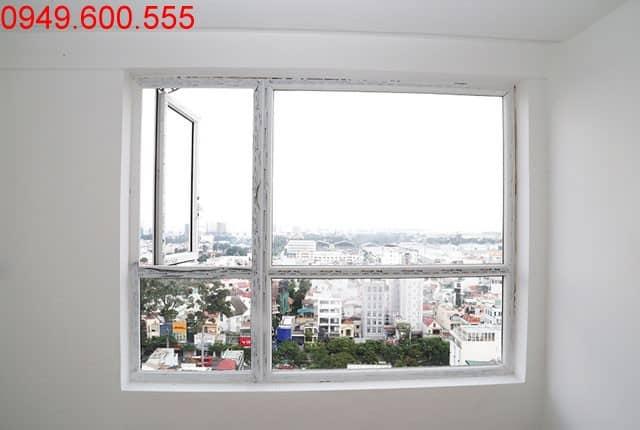 Lắp đặt cửa sổ căn hộ từ tầng 13 đến tầng 16 block C, D căn hộ Sky Center