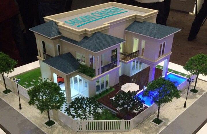 Biệt thự kiểu 1 Dự án Saigon Charm Villas