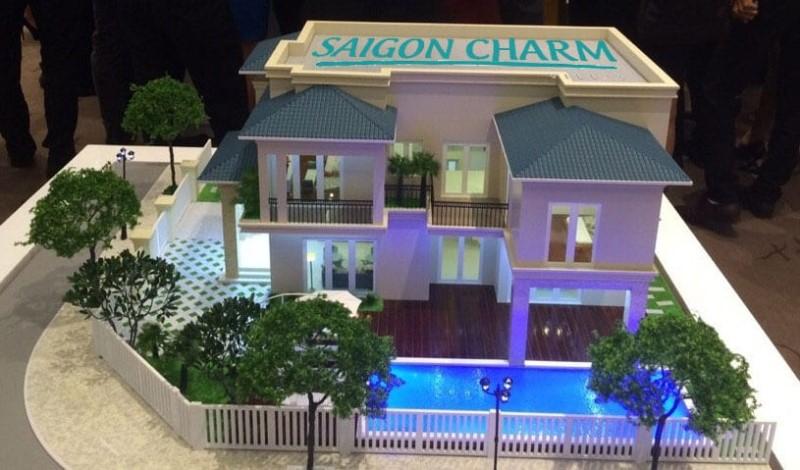 Biệt thự kiểu 2 Dự án Saigon Charm Villas