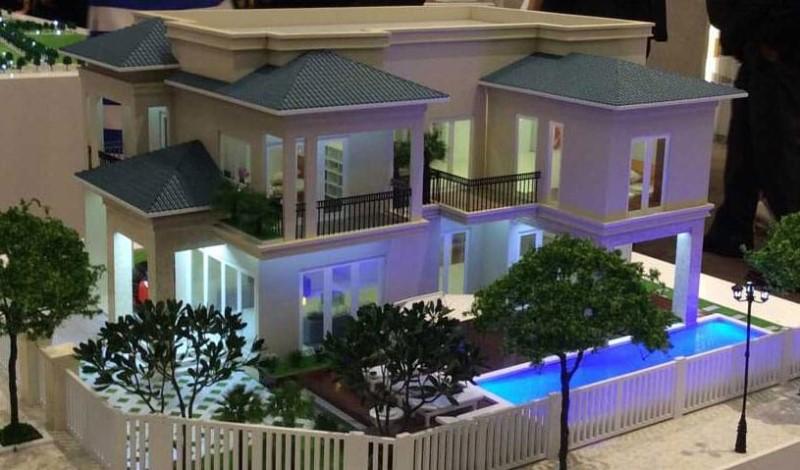 Biệt thự kiểu 4 Dự án Saigon Charm Villas