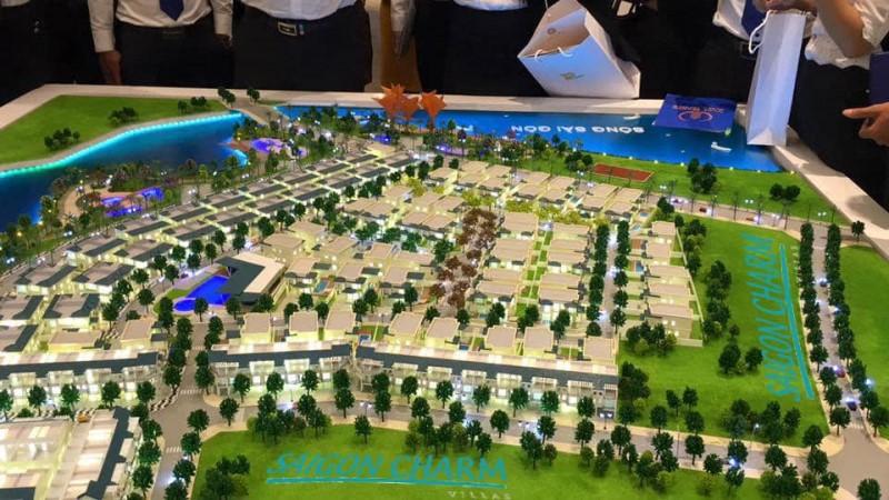 Mặt bằng tổng thể Saigon Charm Villas