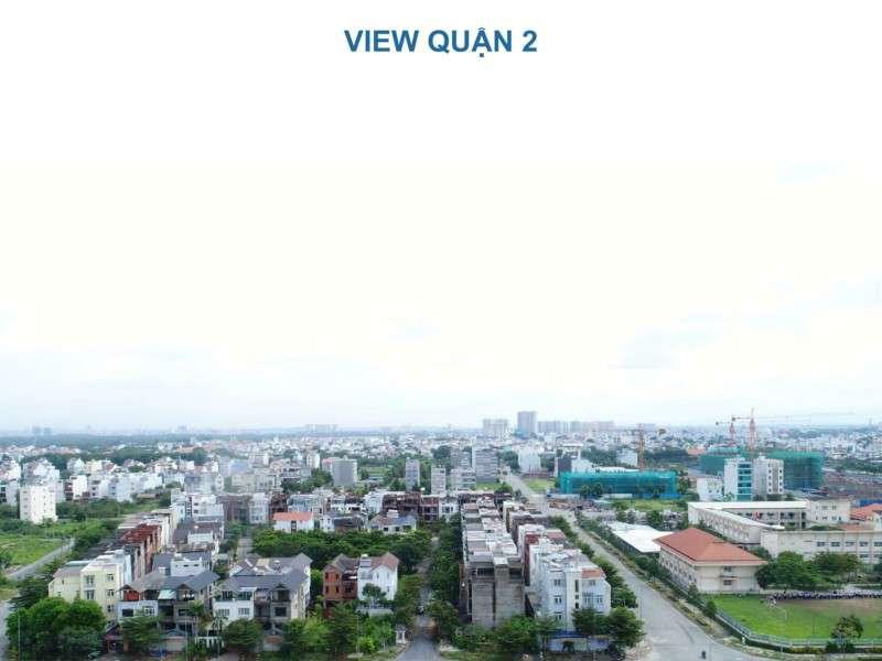 Các hướng view của căn hộ One Verandah quận 2