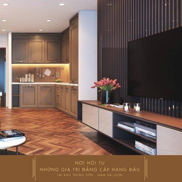Thiết kế tiện nghi tại căn hộ Saigon Mia