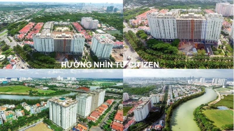 Các hướng view của căn hộ CitizenTs
