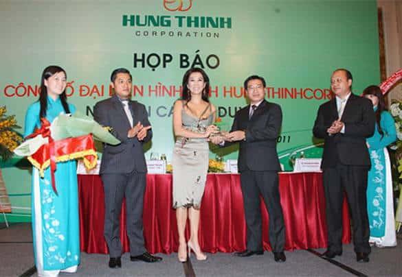 MC Nguyễn Cao Kỳ Duyên - Đại Sứ Thương Hiệu Hưng Thịnh Corp