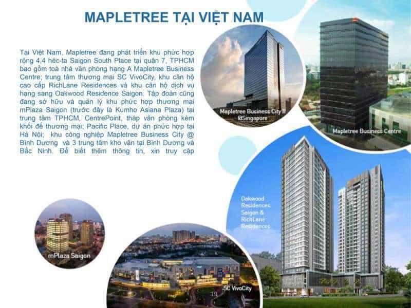 Mapetree tại Việt Nam