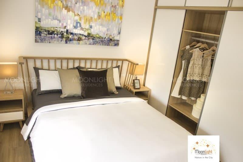 Mẫu căn hộ Moonlight Residences cho thuê