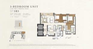 mặt bằng căn hộ the nassim 6