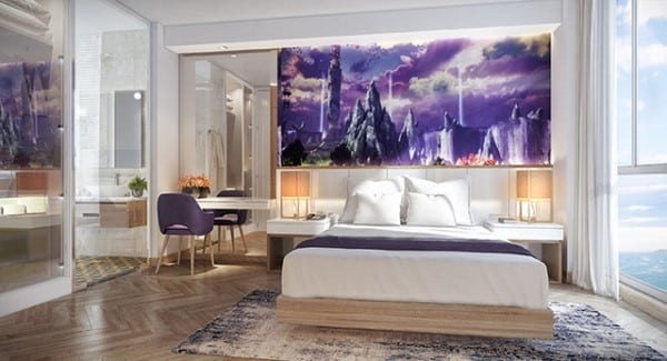 Thiết kế nội thất rực rỡ tại Coco Wonderland Resort