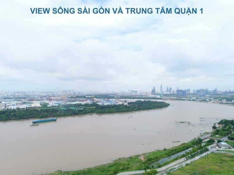 One VERANDAH View sông Sài Gòn và Trung Tâm Quận 1