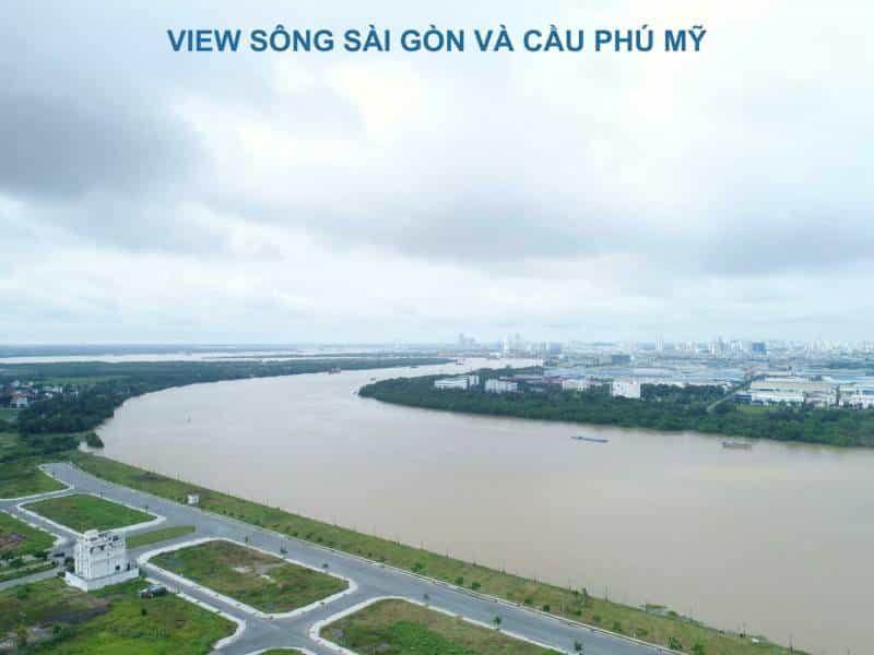 One VERANDAH View sông Sài Gòn và cầu Phú Mỹ