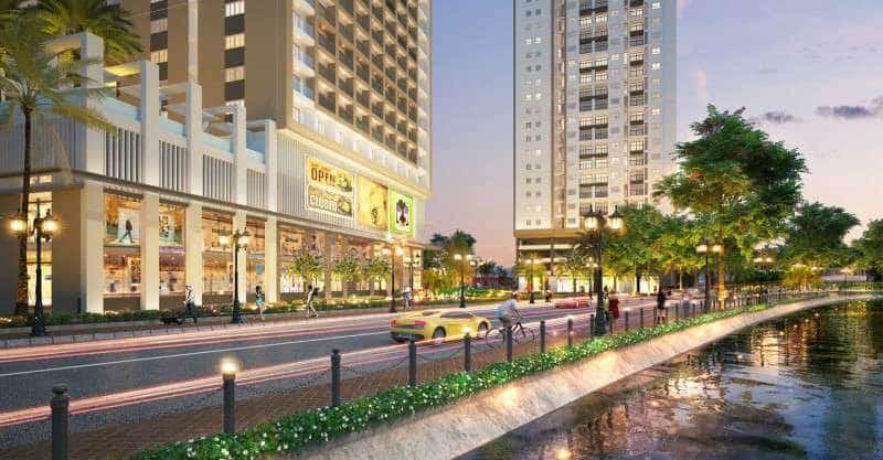 Phối cảnh dự án Richmond City cho thuê
