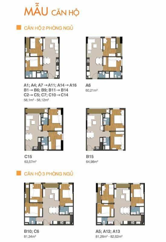 Chi tiết thiết kế căn hộ Lavita Zen