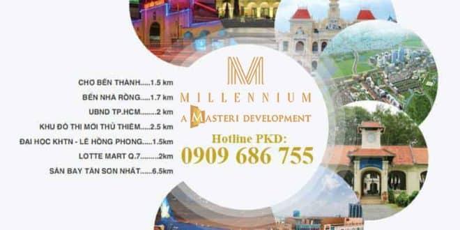 Thuê căn hộ Masteri Millennium