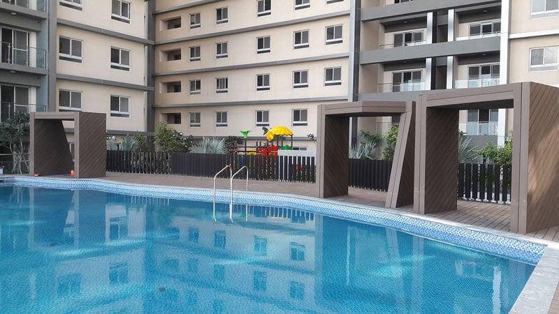 Hồ bơi tại căn hộ Cosmo city