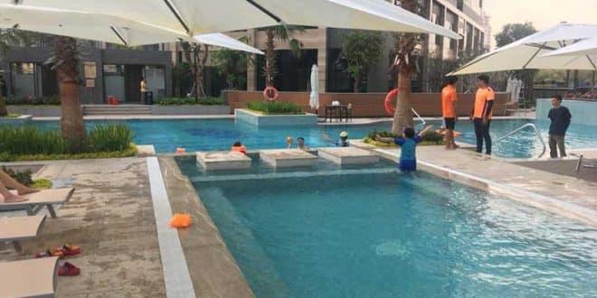 Hồ bơi Vinhomes Ba Son