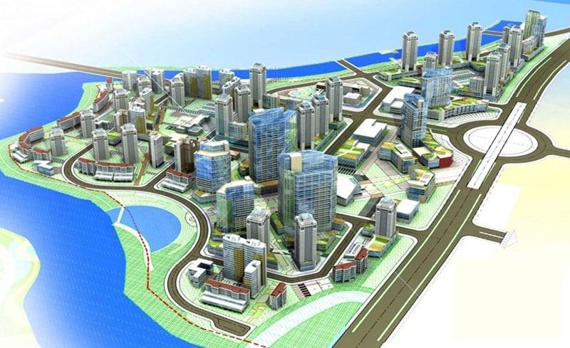 mặt bằng phân khu khu đô thị dự án căn hộ gs metro city