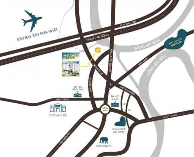 vị trí tiện ích căn hộ saigonres plaza